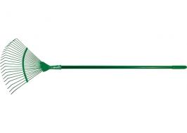 Грабли веерные, колличество зубьев 22, металлический черенок 1500 мм Palisad