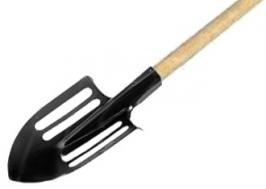 Лопата облегченная, штыковая, с черенком СибрТех