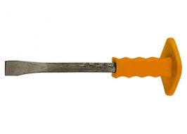 Зубило, 300 х 25 мм, с протектором, Master Sparta
