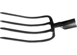 Вилы четырех-рогие, 175×255 мм, без черенка, садово-огородные СибрТех