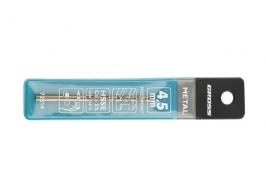 Сверло спиральное по металлу, 4.5 мм, HSS-Co Gross