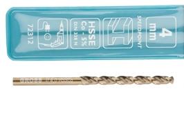 Сверло спиральное по металлу, 4,0 мм, HSS-Co Gross