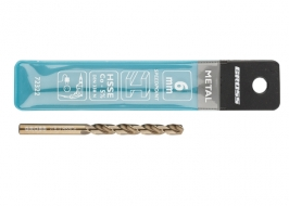 Сверло спиральное по металлу, 6.0 мм, HSS-Co Gross