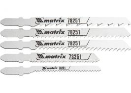 Набор полотен для электролобзика универсальный, 5 шт. Matrix Professional