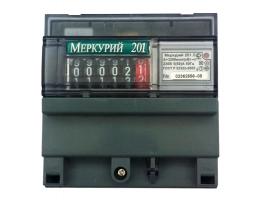 Cчетчик Меркурий 201.5 однофазный однотарифный