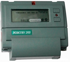Cчетчик Меркурий 200.02 однофазный многотарифный