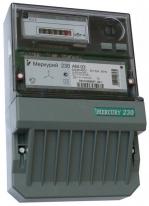 Cчетчик Меркурий 230АМ-00 трёхфазный, активной энергии однотарифный