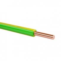Провод установочный с изоляцией из ПВХ пластиката ПВ-1 (ПуВ)