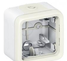 Коробка 1 постовая белая Legrand Plexo IP55