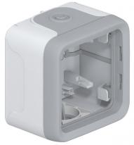 Коробка 1 постовая серая Legrand Plexo IP55