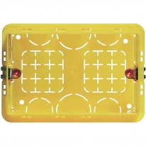 Монтажная коробка для твердых стен 3 мод Bticino