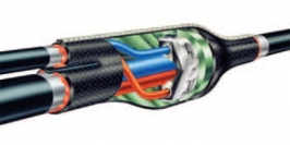 Муфта кабельная термоусаживаемая для кабеля с броней 4x(25-50)