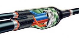 Муфта кабельная термоусаживаемая для кабеля с броней 4x(150-240)