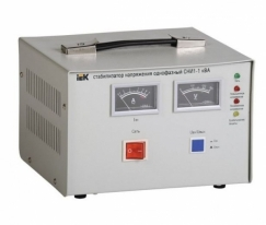 Стабилизатор напряжения СНИ1-1 кВА однофазный