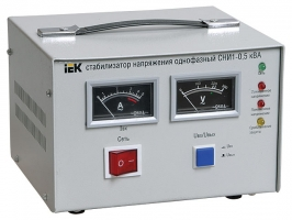 Стабилизатор напряжения СНИ1-3 кВА однофазный
