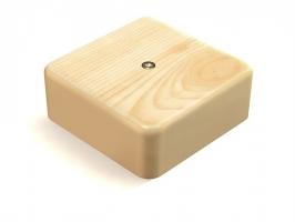 Коробка распаячная сосна 75×75