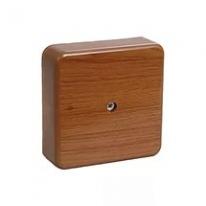Коробка распаячная орех 75×75