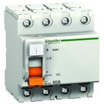 УЗО Schneider Electric ВД63 4П 25A 30mA