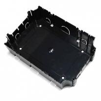 Коробка для люка в пол BOX/6 на 6 и на 8 модулей, пластиковая для заливки в бетон