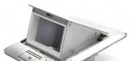 Люк встраиваемый на 1,5 модуля с коробкой сталь IP44 (45х45 мм)