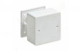 Коробка BOX/2+2ST66 для люков в пол на 2 поста (45х45) +2 модуля (45х22,5) пластик
