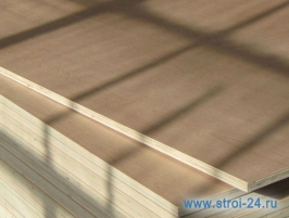 Фанера березовая водостойкая ФСФ, 1525х3050х15 мм