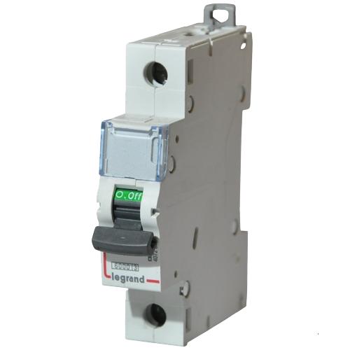 Автоматический выключатель Legrand C 63А 1P 404034