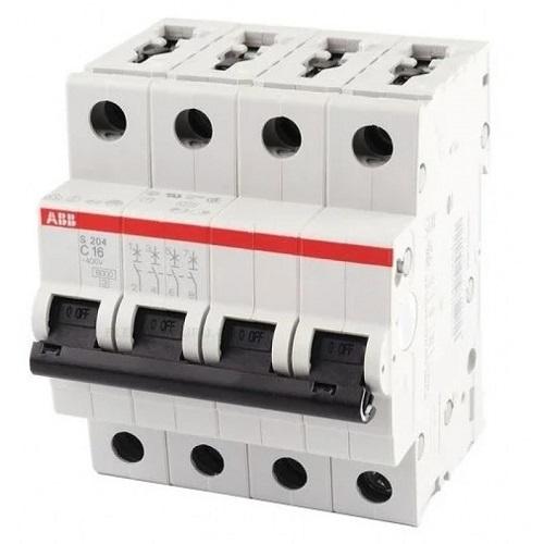 Автоматический выключатель 4P D3 — ABB S204, 6kA