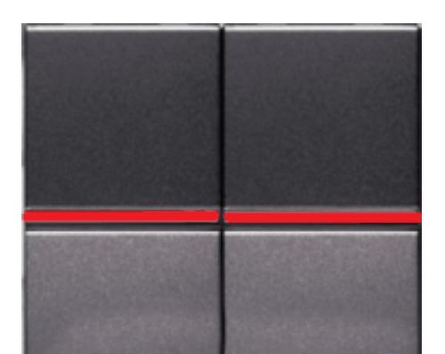 Переключатель 2кл промежуточный с подсветкой ABB Niessen Zenit Антрацит