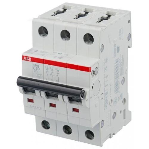 Автоматический выключатель 3P D2 — ABB S203, 6kA