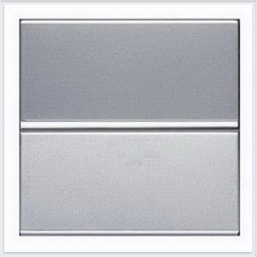 Переключатель 1кл проходной ABB Niessen Zenit Серебро
