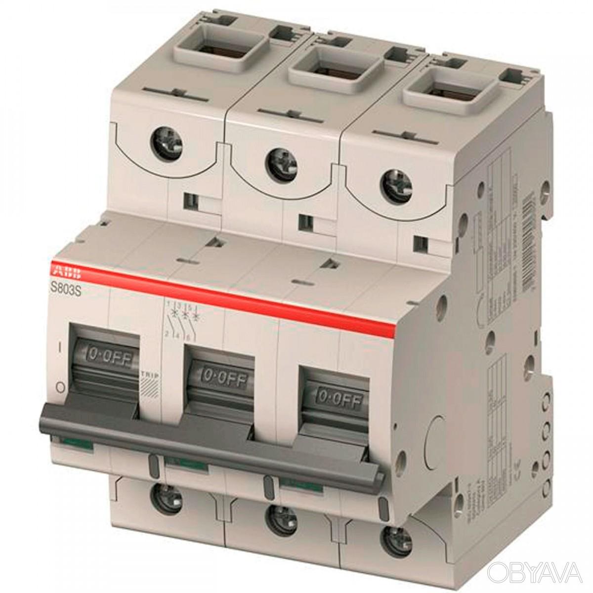 Автоматический выключатель ABB S803C — C 80A