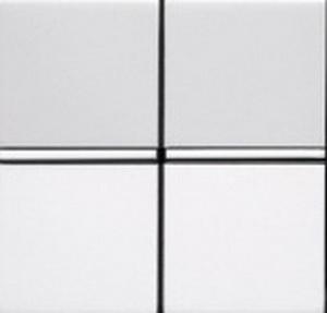 Переключатель 2кл проходной ABB Niessen Zenit Белый