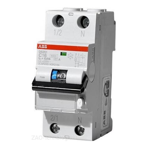 Дифференциальный автомат АВВ DS201 C16A