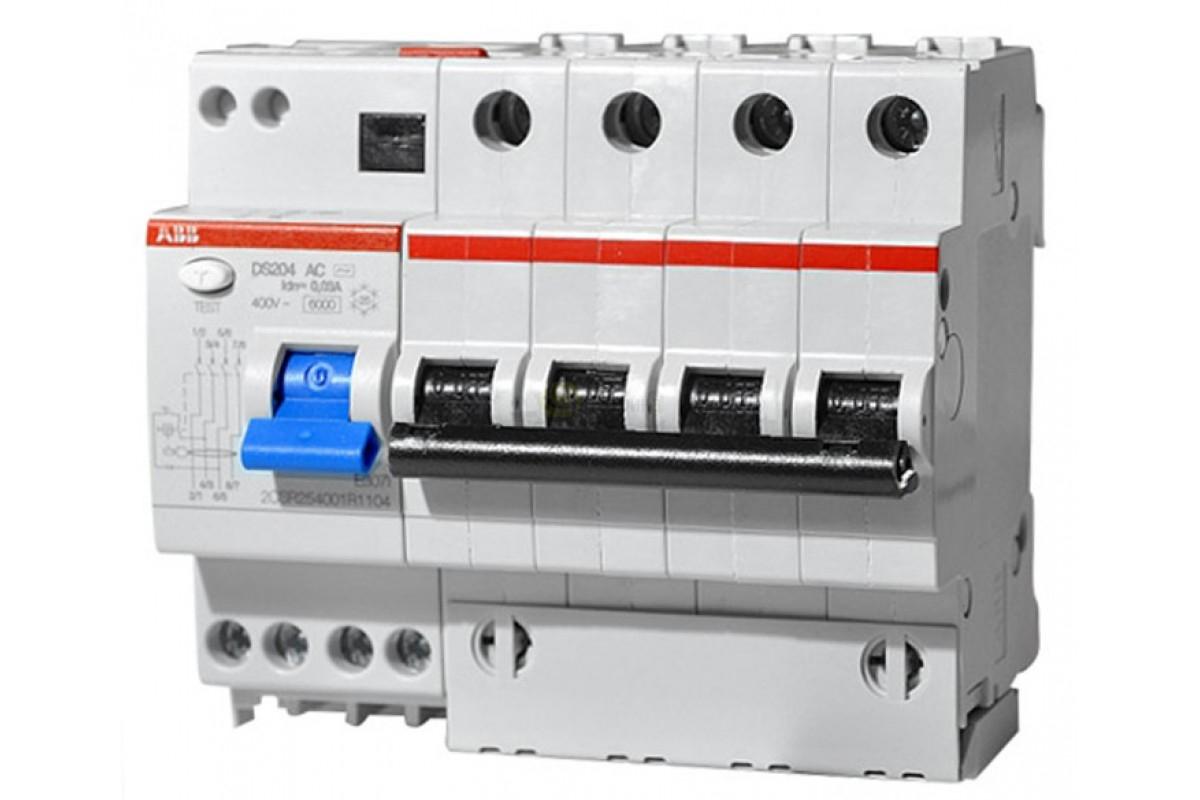 Дифференциальный автомат АВВ DS204 C40