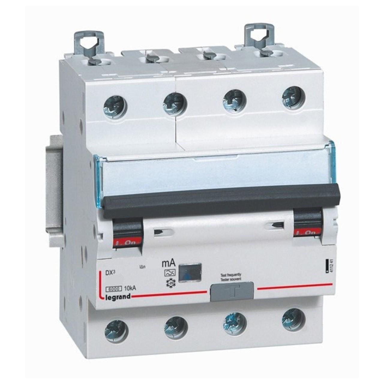 Дифференциальный автомат Legrand DX3 32А 4P 411188