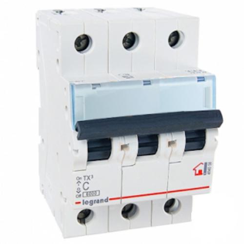 Автоматический выключатель Legrand TX3 C 63А 3P 404062