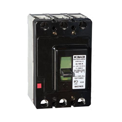 Автоматический выключатель ВА 57Ф35-340010 250А