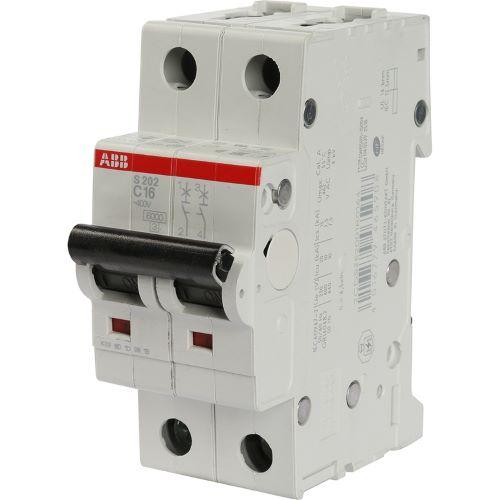 Автоматический выключатель 2P D63 — ABB S202, 6kA
