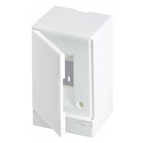 ABB Basic E Бокс настенный 2М белая непрозрачная дверь (без клемм), 2 мод. IP40