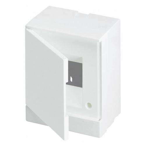 ABB Basic E Бокс настенный 4М белая непрозрачная дверь (с клеммами), 4 мод. IP40