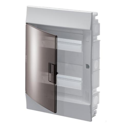 Бокс в нишу ABB Mistral41 24М прозрачная дверь с клеммным блоком