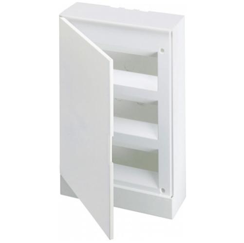ABB Basic E Бокс настенный 36М белая непрозрачная дверь (с клеммами), 36 мод. IP40