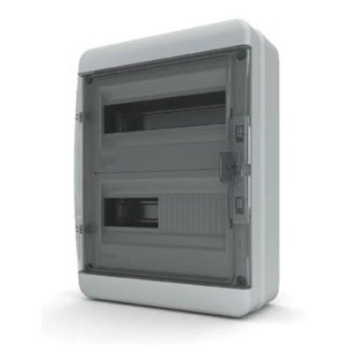 Пластиковый навесной распределительный щит Tekfor ВNK 65-24-1 на 24М IP65