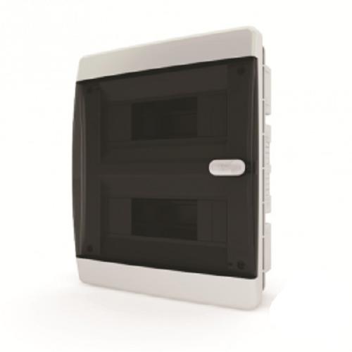 Пластиковый навесной распределительный щит Tekfor CNK 40-18-1 на 18М