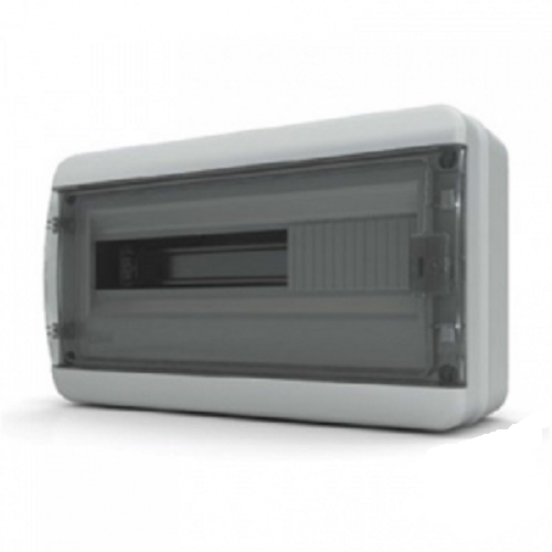 Пластиковый навесной распределительный щит Tekfor ВNK 65-18-1 на 18М IP65