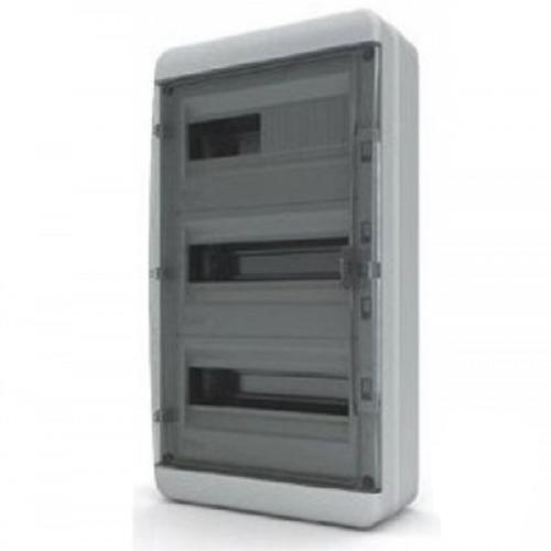 Пластиковый навесной распределительный щит Tekfor BNK 65-36-1 на 36М IP65