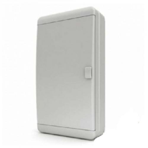 Пластиковый навесной распределительный щит Tekfor BNN 65-36-1 на 36М IP65