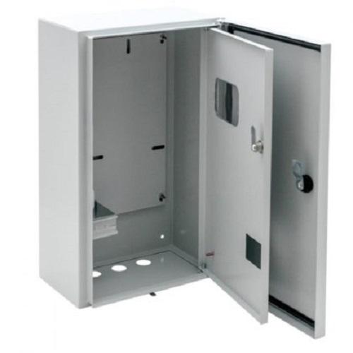 Металлический щит учета для монтажа на столб ЩУГ-3-1,двойная дверь, IP55