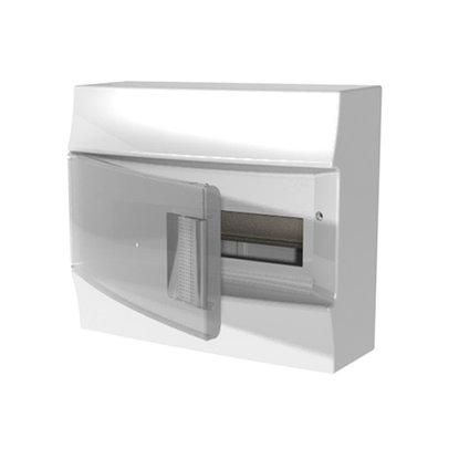 Бокс настенный АВВ Mistral41 12М прозрачная дверь с клеммным блоком